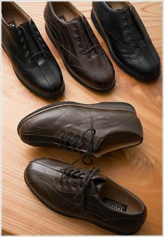 イタリア製の革靴(ファイブコンフォート社)